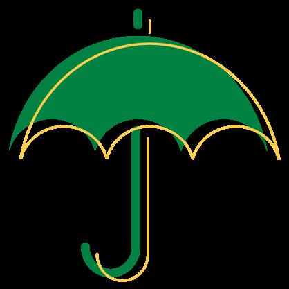 Umbrella icon for universal life
